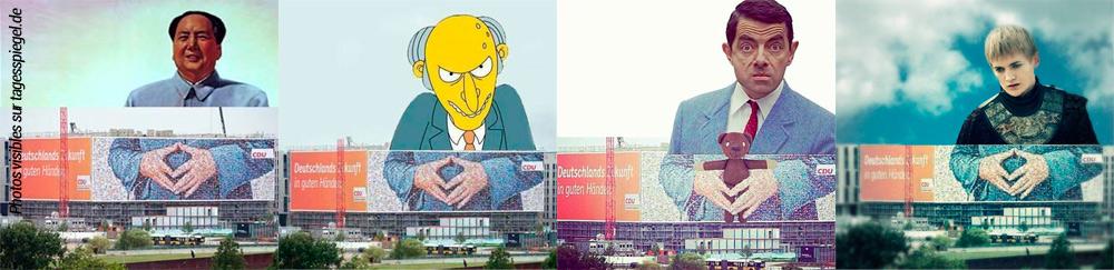 detournements-losange-merkel-affiche-CDU-2013